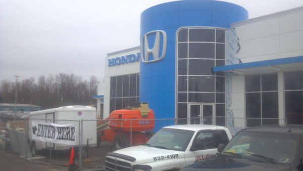 Bud design engineering for Zeigler honda service