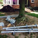 Installation of Helical Piers for Foundations - Grand Blanc, MI